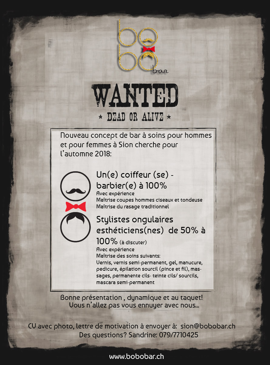 Recrutement stylistes ongluaires, coiffeur, coiffeuse